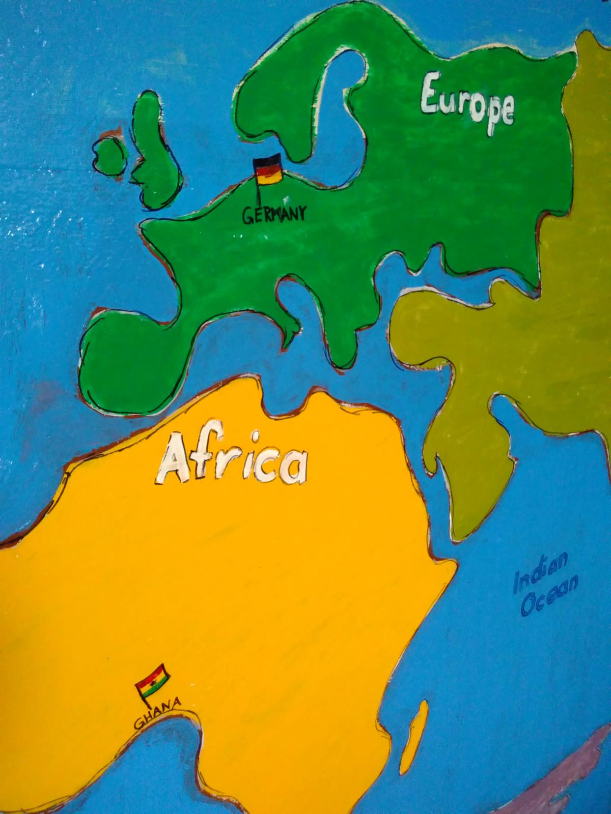 Ghana und Deutschland - eine große Familie