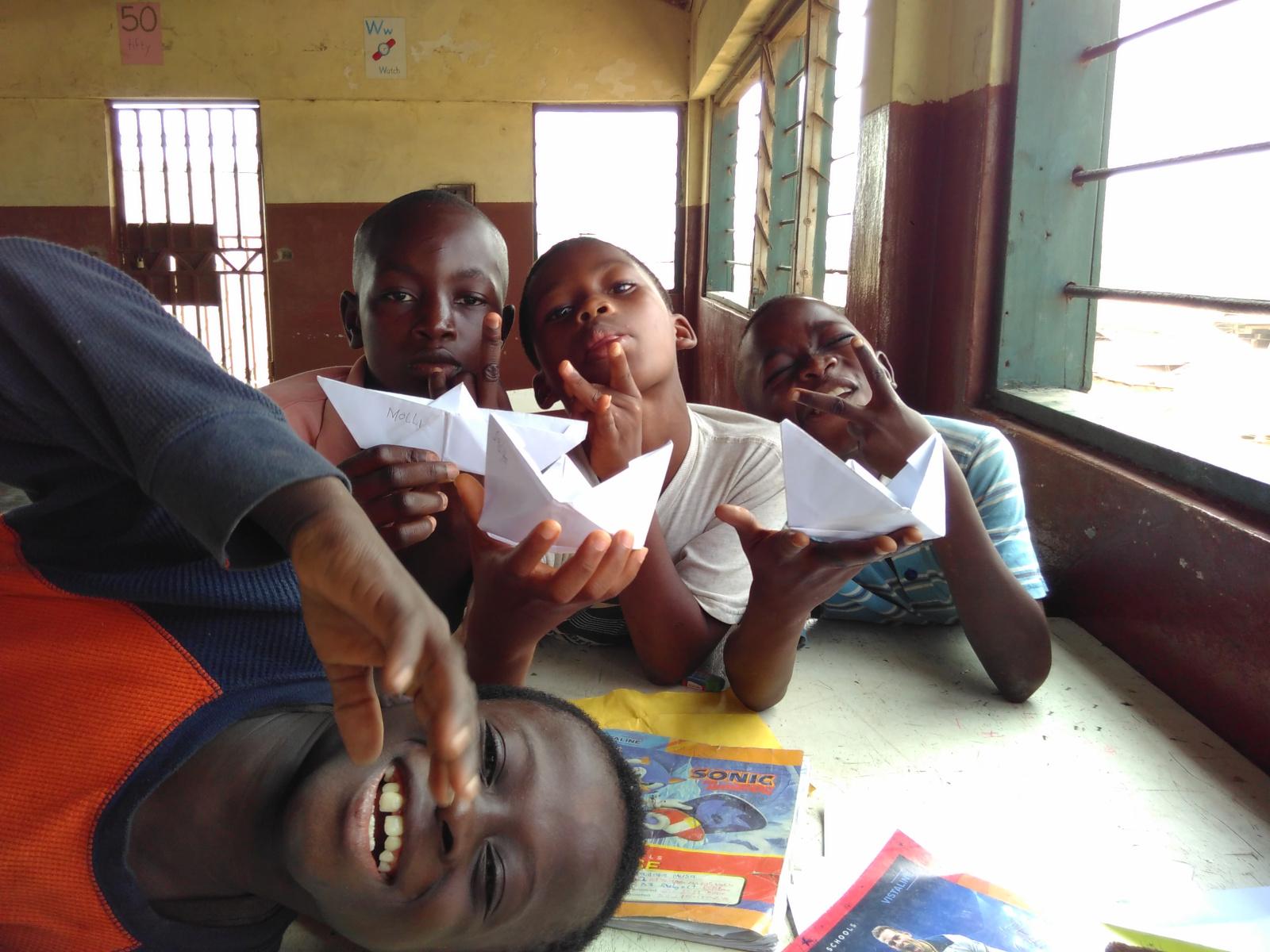 Schule und Spaß miteinander verknüpfen, in Zukunft wird jedes Blatt zu einem Papierboot