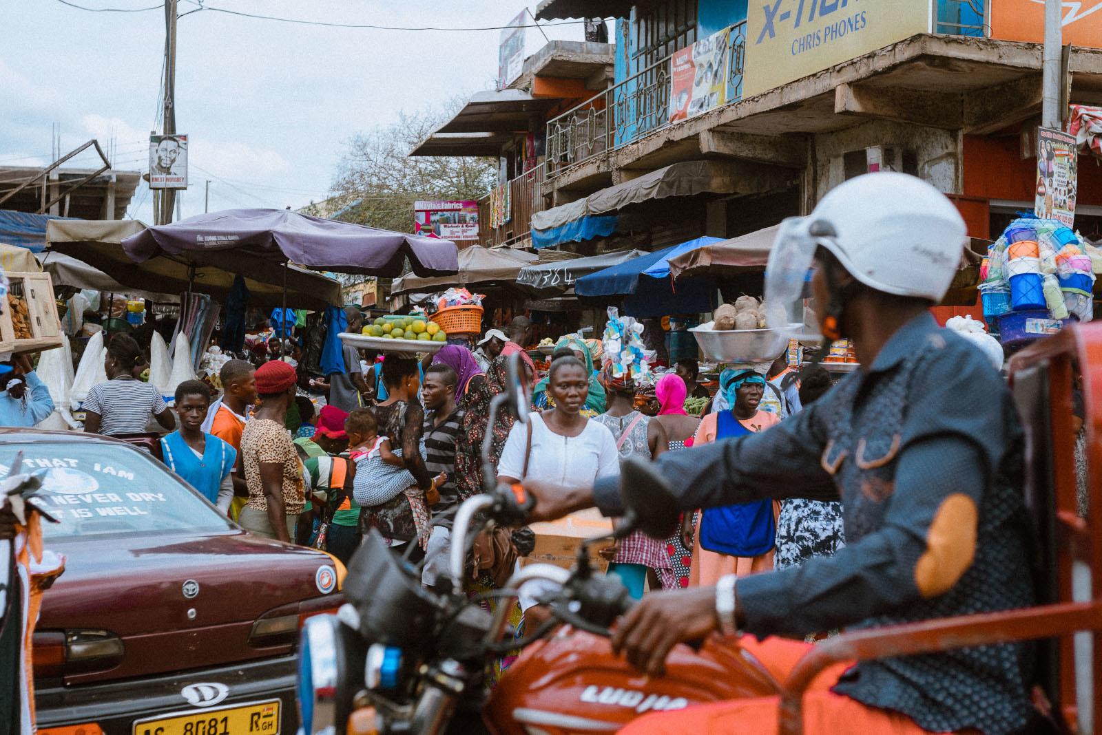 Ashaiman Markt