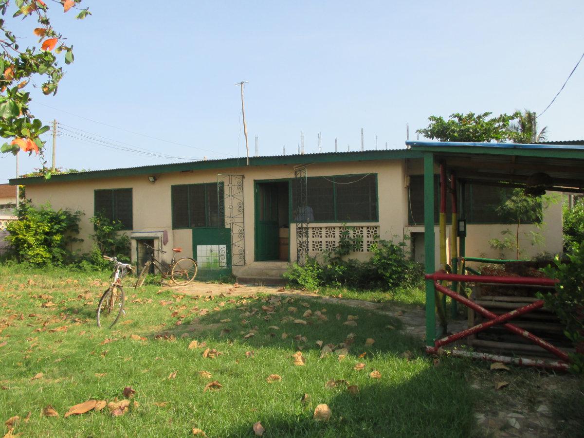 Das Volu-Haus, hier wohnen die Freiwilligen.