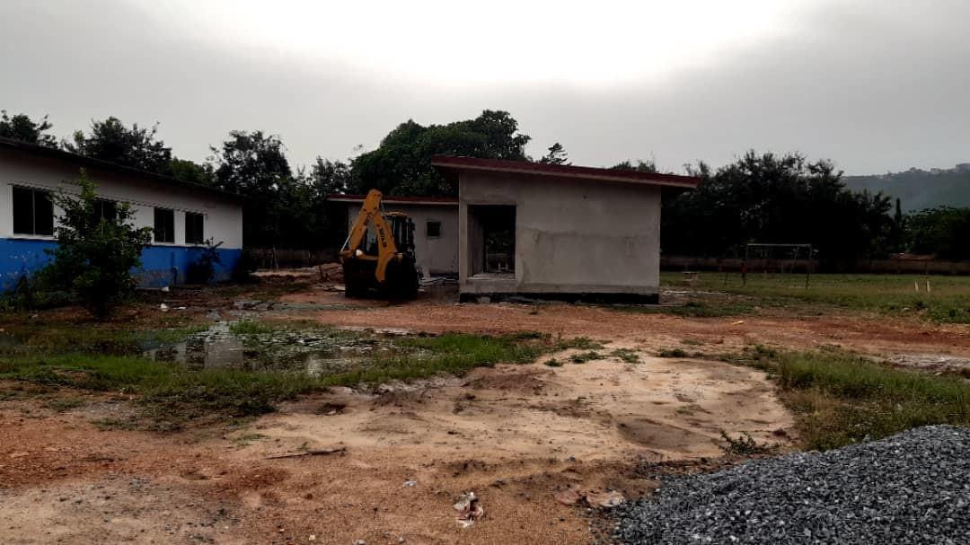 Erweiterung 2020/21 - Das neue Jungenhaus ist fast fertig