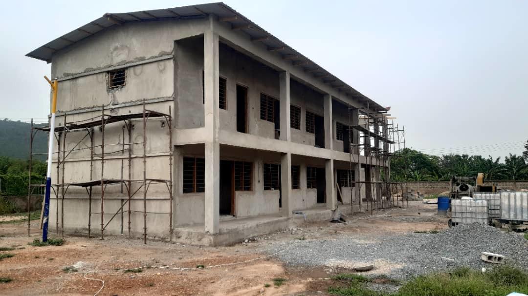 Erweiterung 2020/21 - Der neue Gebäudekomplex für Ausbildungswerkstätten und Büros