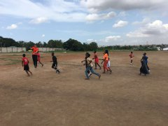Sportunterricht mit den FCP Kidz einmal richtig austoben.